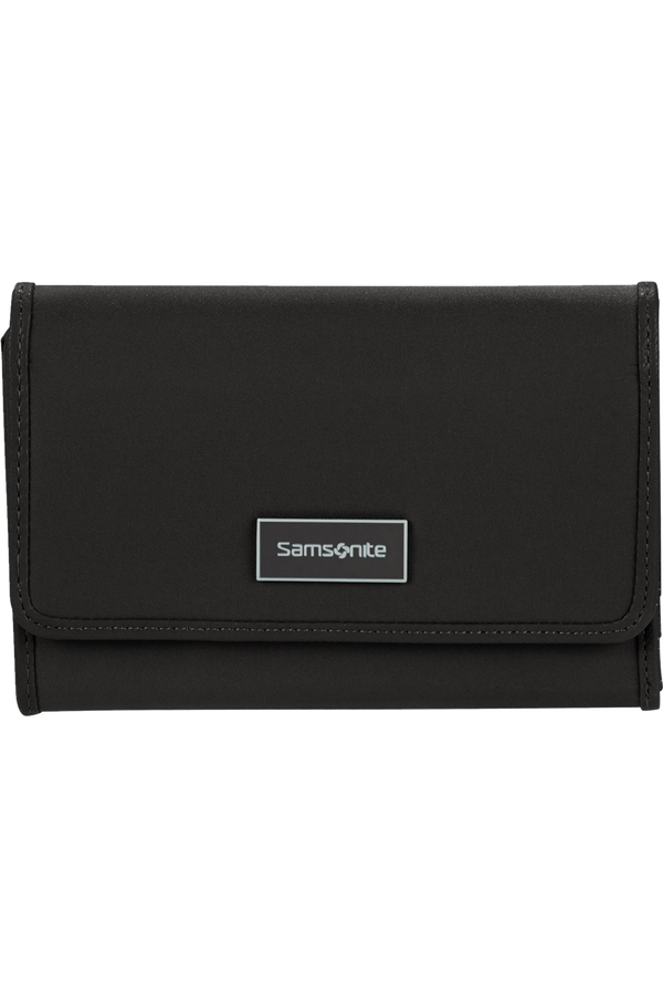 Samsonite Karissa Slg Wallet 12CC+ZIP EXT M  Black