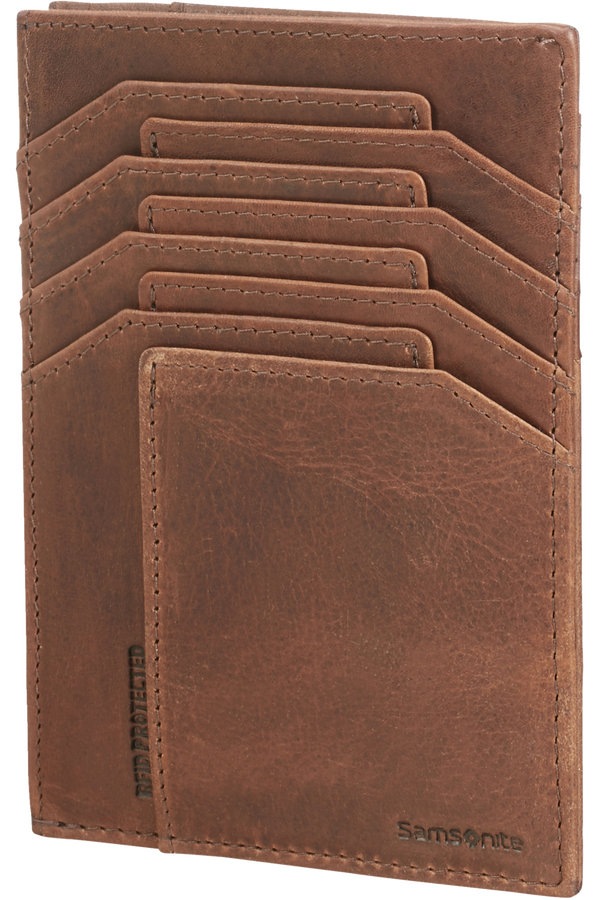 Samsonite Oleo Slg 726 - ALL IN ONE WALLET  Dark Brown