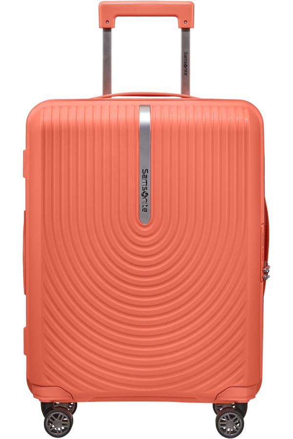 Samsonite Hi-Fi Spinner Expandable 55cm  Bright Coral