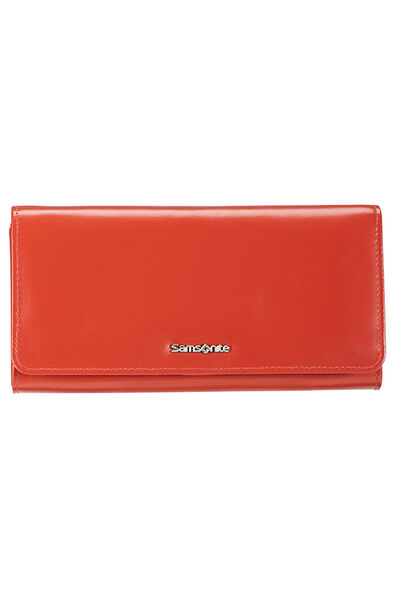Lady Chic II SLG Wallet Coral Red