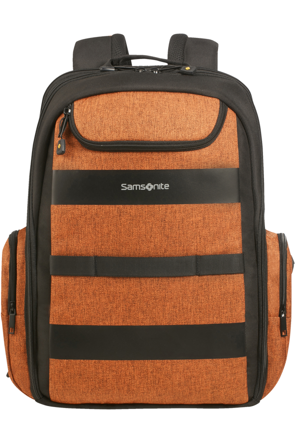 Samsonite Bleisure Backpack 15.6' Exp Daytrip  Deep Orange