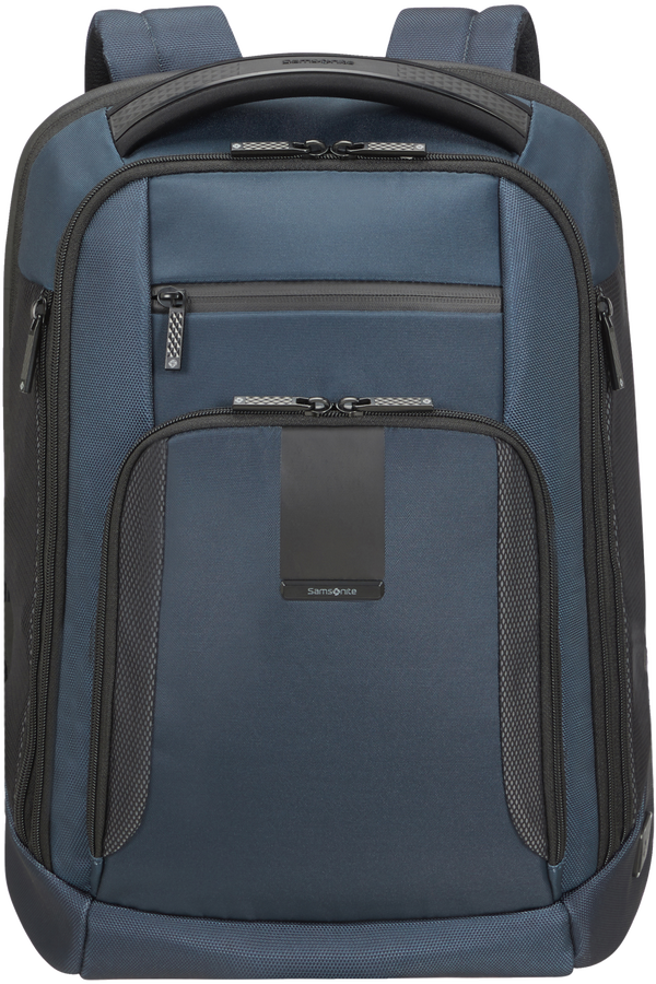 Samsonite Cityscape Evo Laptop Backpack Expandable  17.3inch Blue