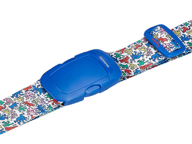 Keith Haring Luggage Strap