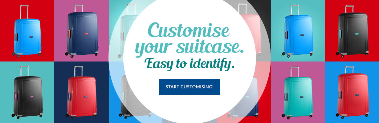 Customise your suitcase