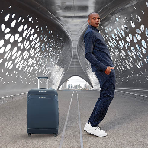 A new generation of easy access luggage.