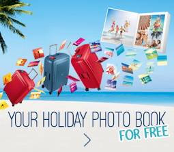 Your holiday photo book for free!