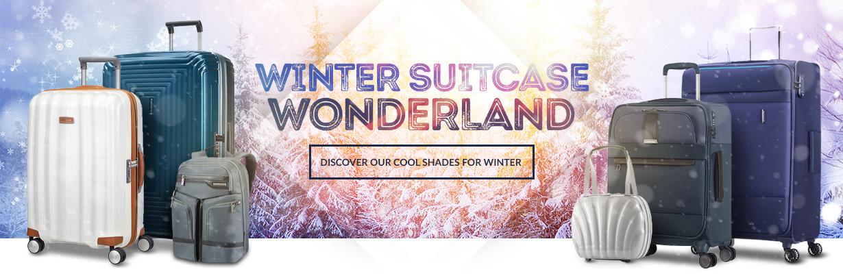 Winter Suitcase Wonderland