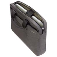 Adaptable laptop/tablet compartment providing optimal protection and flexibility.