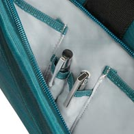 Smart and functional internal organization with dedicated pockets for all your belongings.
