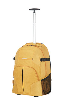 Samsonite Rewind Laptop Backpack with Wheels  40.6cm/16inch Sunset Yellow