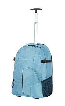 Samsonite Rewind Laptop Backpack with Wheels  40.6cm/16inch Ice Blue